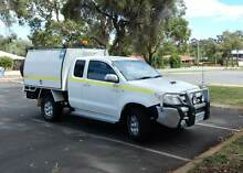 2008 Toyota Hilux SR5 4x4 D4D Man Extra Cab with Rosco Trade Mate Swan View Swan Area Preview