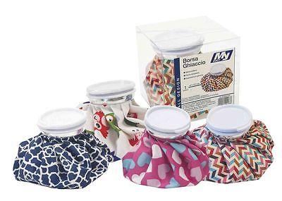Borsa sacca di ghiaccio portaghiaccio con coperchio sacchetto assistenza salute