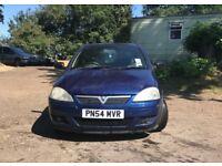 Vauxhall corsa SXI 16V for sale, MOT, low mileage, drives perfect.