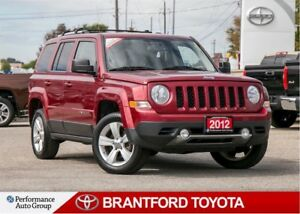 2012 Jeep Patriot Limited 4x4, Brown Leather, Navigation