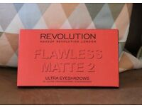 Makeup Revolution Flawless Matte 2 Ultra Eyeshadow Palette - Brand New