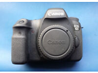 Canon 6D (WG) Camera, body only - very good condition