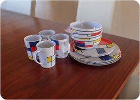 Caravan cups and plates