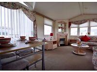 3 bed static caravan*ALL 2016 fees available*sea views*dog friendly*12 month season*east coast