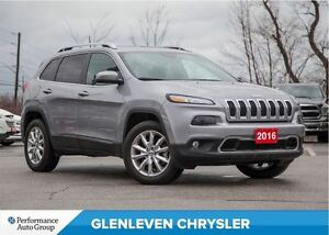 2016 Jeep Cherokee Limited | NAVIGATION | LEATHER | PANO ROOF |