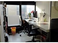 Self Contained Room and Desk space for creatives in London Fields Hackney East London