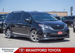 2014 Toyota Sienna SE, One Owner, Carproof Clean, Trade In