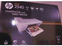 HP Smartphone and Tablet Printer Wireless connect, mono LCD screen, Local mobile printing with box