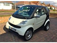 2007 SMART FORTWO PURE 0.7 PETROL SEMI-AUTO - with very low mileage