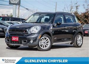 2015 MINI Cooper Countryman S | AWD | PANO ROOF | LEATHER | HEAT