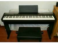 Digital piano with stand and extras