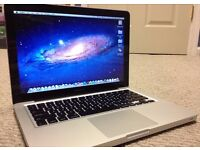 Macbook Pro + Charger, Excellent condition