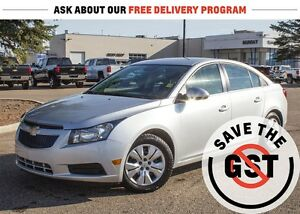 2014 Chevrolet Cruze 1LT *1.4L I4 *Turbocharged *Manual *Sirius