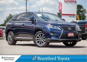2015 Lexus RX 350 F-Sport, Heads Up Display, Navigation