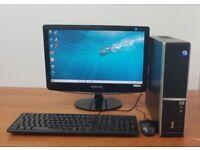 Stone PC Computer Windows 10, Intel i3-2120 8GB RAM & 500GB HDD