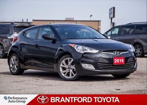 2016 Hyundai Veloster Brand New Tires, Base, Automatic, Safety a