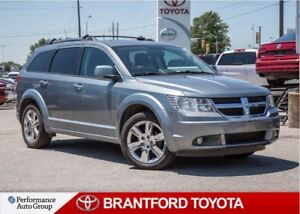 2010 Dodge Journey AWD, Leather, Sunroof, Navigation, Caproof Cl