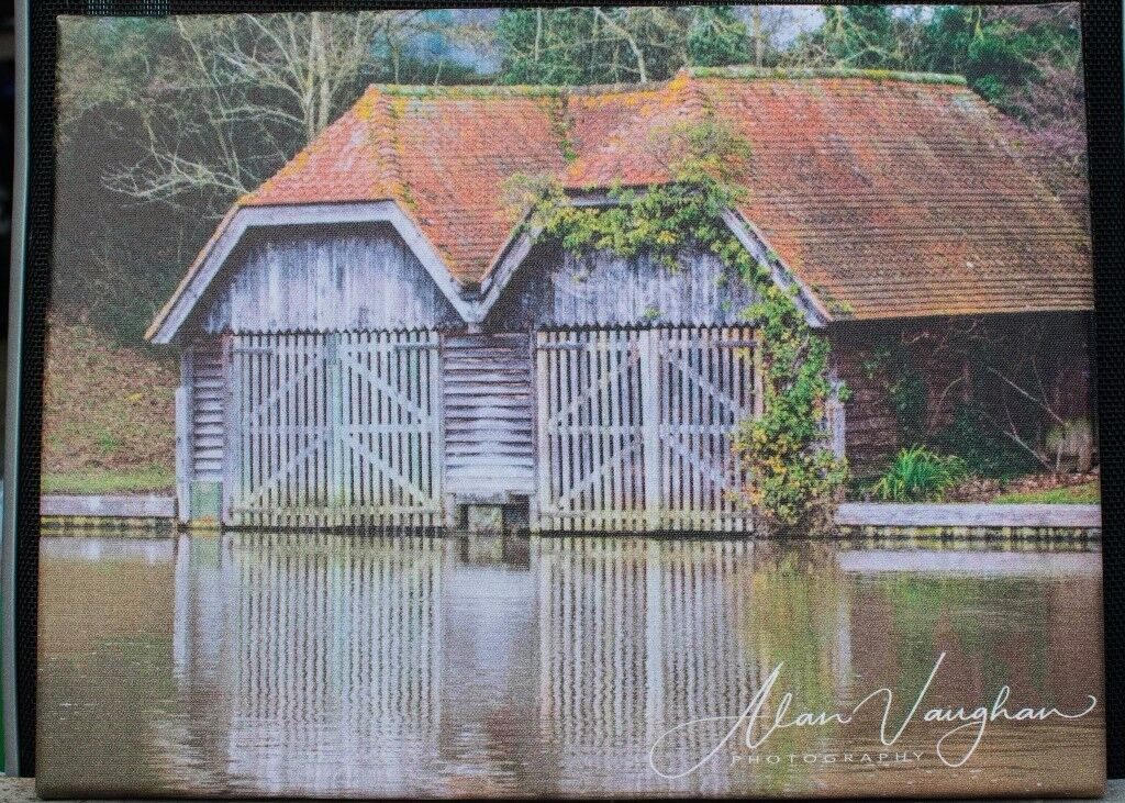 The Boat House Canvas Picture