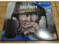 Brand new PS4 console + 3 games + 12 months warranty