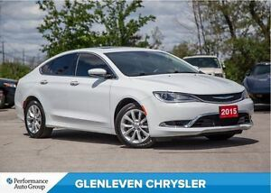 2015 Chrysler 200 C | V6 | PANO ROOF | LEATHER | PREM SOUND