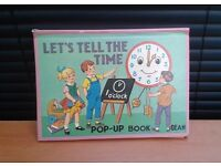 LET'S TELL THE TIME POP UP BOOK