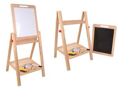 Kindertafel Maltafel Schultafel 2in1 Standtafel Schreibtafel Tafel Kreide Kinder
