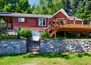 Lakefront cottage between French River & Sudbury-Nepewassi lake