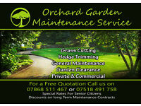 Garden Maintenance Service, Grass Cutting, Strimming, Hedge Cuttting, Clearance, Pressure Washing