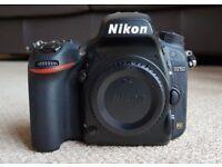 Nikon D750 - SLR Camera - Body only in black