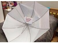 43 inch photographic umbrella