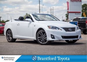 2013 Lexus IS250C Leather, Only 64959 Km's, Convertible