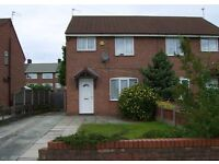 Fully furnished three bedroom semi close to John Lennon Airport Speke