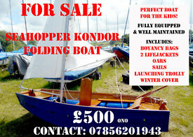 Seahopper Kondor folding boat For Sale - Perfect for the Kids!