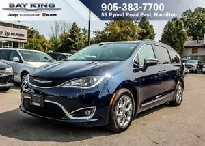 2017 Chrysler Pacifica LIMITED, STOW N' GO, DVD, BLUETOOTH, SUNR