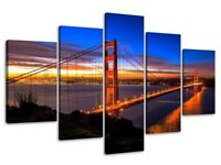 San Francisco 5 pices canvas