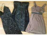 Bundle of 3 women's dress size 10-13