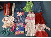 clothing for girls from 12 months to 2.5 years