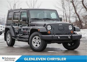 2008 Jeep Wrangler UNLIMITED SAHARA | 4X4 | TWO TOPS