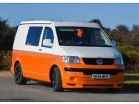 VW T5 Campervan in excellent unused condition.