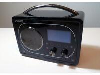Pure Evoke F4 With Bluetooth Portable DAB Internet Radio Plus Battery! Record! Alarm