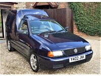 Volkswagen 1900 cc, SCi, Diesel Caddy Van, 2001 (Y Reg)