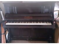 Vintage upright piano, 1900's John Brinsmead make, warm tone, immaculate condition, with stool