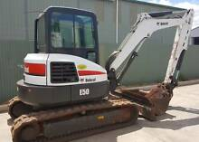 Used Bobcat E50 Excavator (S/N R1053) Dubbo Area Preview