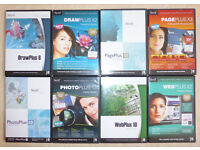 SERIF PC Software Collection (DRAW / PHOTO / PAGE / WEB PLUS) For Windows
