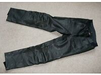 Hein Gericke Router leather touring Trousers, size 34.