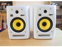 KRK Rokit 6 G2 SE White Monitors