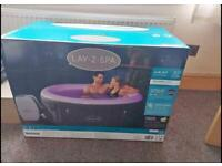 Lay z spa 4 person LED hot tub - BRAND NEW