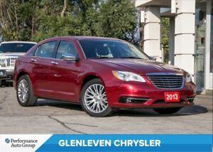 2013 Chrysler 200 Limited | V6 | SUNROOF | PREM SOUND