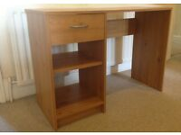 Desk (pine effect)