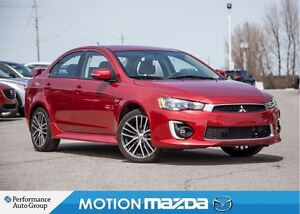 2016 Mitsubishi Lancer GTS AWD Sunroof 2.4L Wing Spoiler